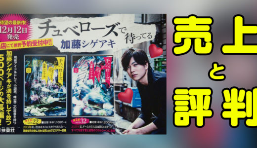 加藤シゲアキの小説の売り上げはどれくらい?賞獲得の評判まとめ